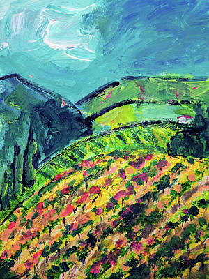 Painting - Saratoga Hills by Haleh Mahbod