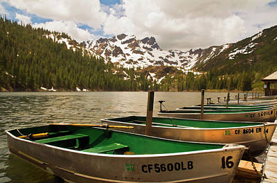 Photograph - Sardine Lake by Mick Burkey
