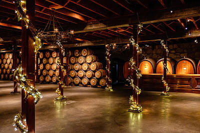Photograph - Sattui Wine Cellar by John McArthur