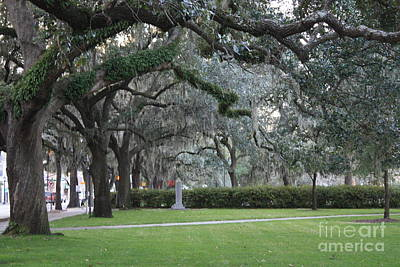 Photograph - Savannah Sidewalk by Danielle Groenen