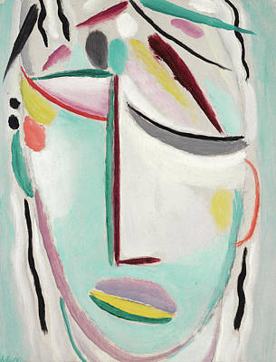 Lord Painting - Saviour's Face - Martyr by Alexej von Jawlensky