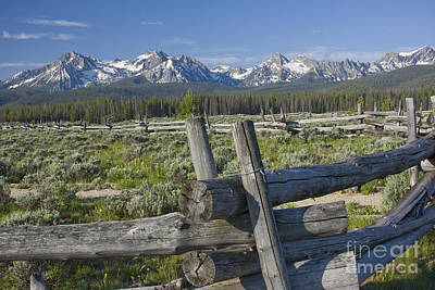 Photograph - Sawtooth Range by Idaho Scenic Images Linda Lantzy