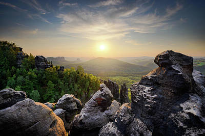 Photograph - Saxon Switzerland National Park, Germany by Marek Kijevsky