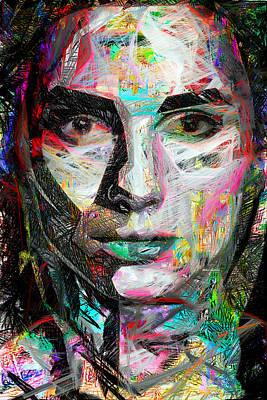 Digital Art - Say What? by Rafael Salazar