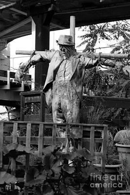Photograph - Scarecrow Art by Doc Braham