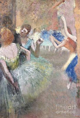 Edgar Degas Wall Art - Painting - Scene De Ballet by Edgar Degas