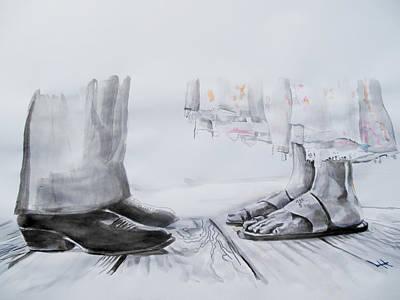 Kill Bill Painting - Scene From Kill Bill by Lucia Hoogervorst