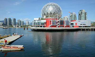 Photograph - Science World 3 by Fraida Gutovich