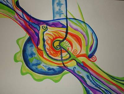 Painting - Scintillating Scallion by Erika Swartzkopf