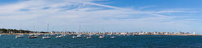 Photograph - Scituate Harbor Panorama 5 by Brian MacLean