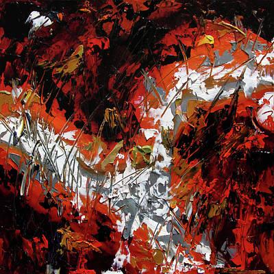 Wall Art - Painting - Scorn #3 by Debra Hurd