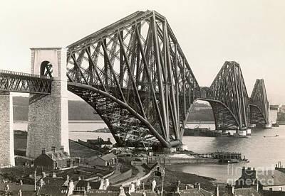 Painting - Scotland: Forth Bridge by Granger