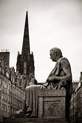 Design Turnpike Books Royalty Free Images - Scott Monument Royalty-Free Image by Songquan Deng