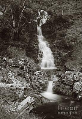 Prana Wall Art - Photograph - Scottish Waterfalls by Angel Ciesniarska