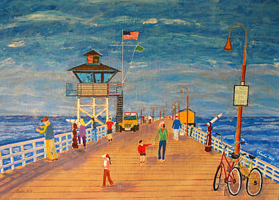 Clemente Painting - Scpier Large by Charlie Sommer