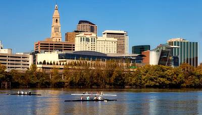 Photograph - Sculling In Hartford by L O C