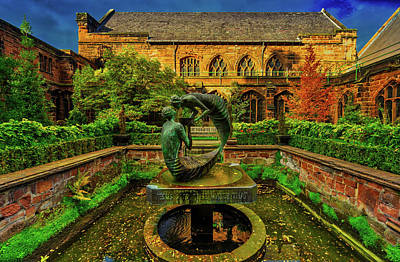 Photograph - Sculpture In Front Of Chester Cathedral by Pixabay