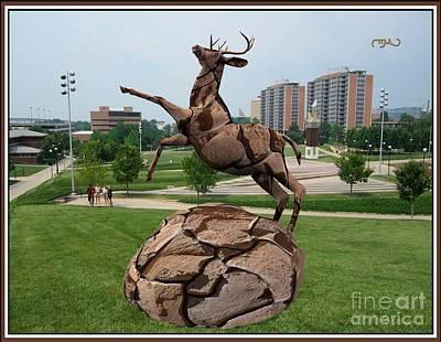 Sculpture Of Deer 2 Original