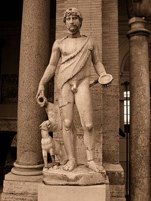 Ancient Rome Photograph - Sculpture Vatican Museum Rome Italy by Wayne Higgs