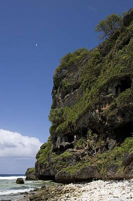 Rurutu Photograph - Sea Cliff, Rurutu, French Polynesia by Jean-Louis Klein & Marie-Luce Hubert