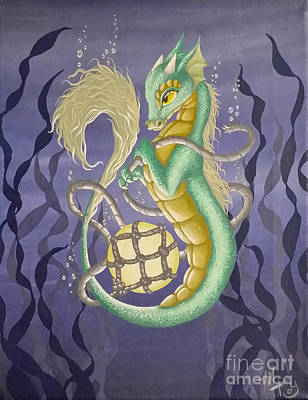 Painting - Sea Dragon II by Mary Hoy