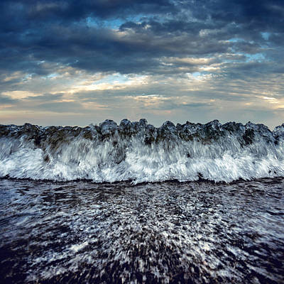 Sea Swell Photograph - Sea Energy by Stelios Kleanthous