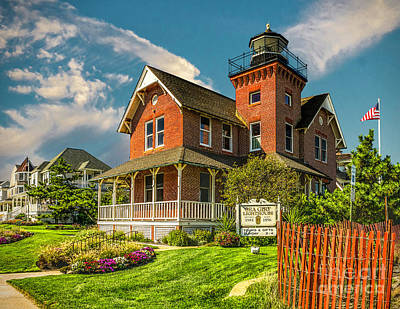 Photograph - Sea Girt Lighthouse by Nick Zelinsky