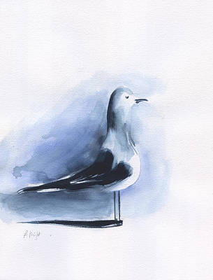 Painting - Seagull by Frank Bright