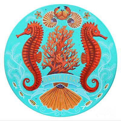 Seahorse Bay Art Print