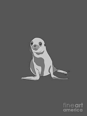 Spot Of Tea - Seal 01 by Sarah Arace