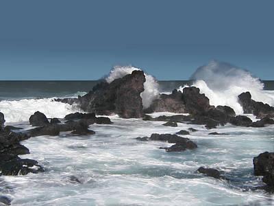 Digital Art - Seascape 8 by Michaelalonzo Kominsky