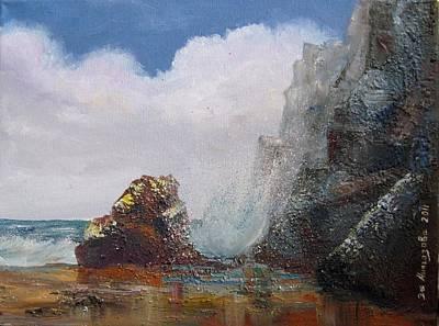 Seascape Art Print by Eleonora Mingazova