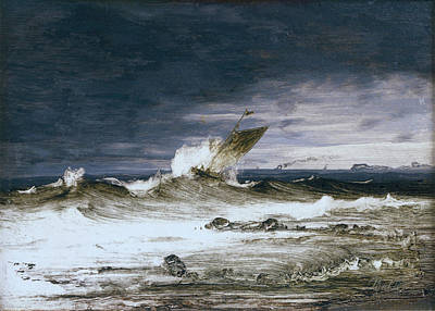 Seascape Art Print by Peder Balke