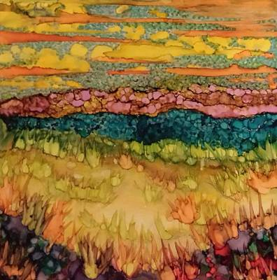 Painting - Seashore by Betsy Carlson Cross