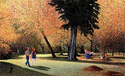 Season Of Abundance And Joy Art Print by Neil Woodward