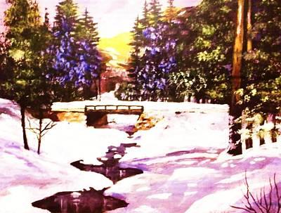 Seasonal  Change Print by Al Brown