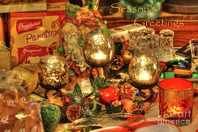 Photograph - Season's Greetings by LR Photography