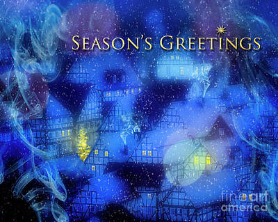 Digital Art - Season's Greetings by Edmund Nagele