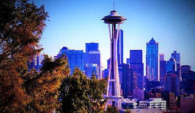 Seattle Afternoon Art Print by Martin Cline
