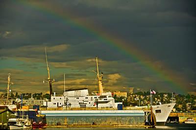 Photograph - Seattle Colors by Steven Lapkin