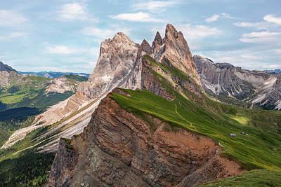 Tyrol Wall Art - Photograph - Seceda - Italy by Joana Kruse