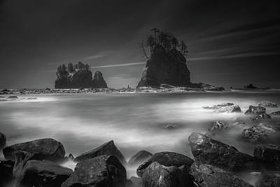 Photograph - Second Beach Long Exposure by William Lee