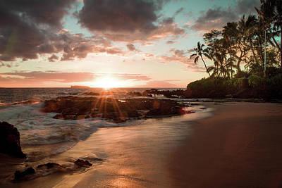 Secret Beach Maui Art Print by Seascaping Photography