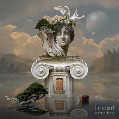 Digital Art - Secret Place Of Atlantis by Alexa Szlavics