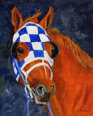 Secretariat Painting - Secretariat  by Mary Mapes