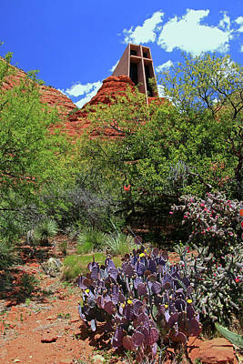 Photograph - Sedona # 40 - Chapel Of The Holy Cross by Allen Beatty