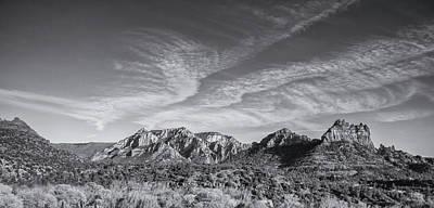 Photograph - Sedona - Black And White by Greg Thiemeyer