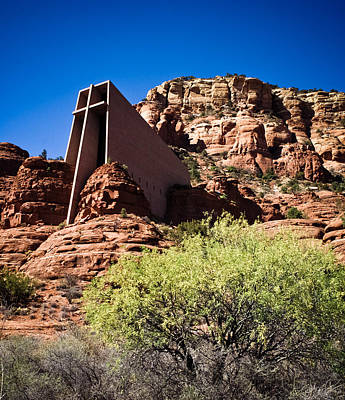 Photograph - Sedona Church  by Scott Sawyer