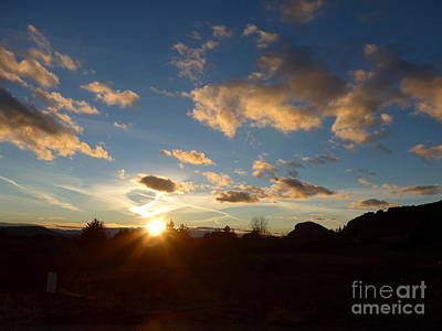 Photograph - Sedona Sunset by Marlene Rose Besso