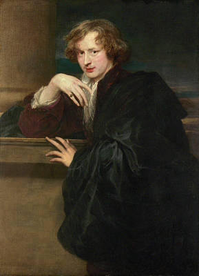 Self Shot Painting - Self-portrait by Anthony van Dyck